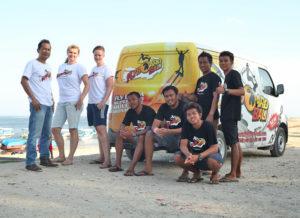 free transport flyboard bali