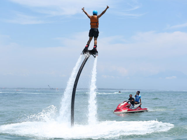 Flyboard Bali beach