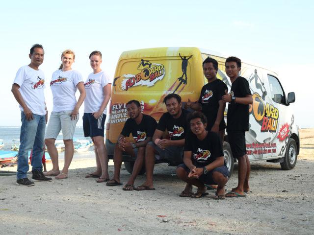 Team Flyboard Bali
