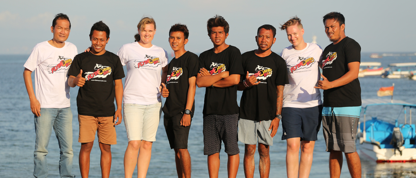Flyboard bali team